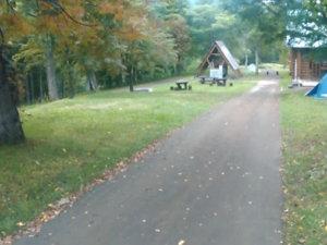 utanobori fure-aino-mori camp site