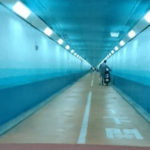 2017九州バイクツーリング 16日目 くじゅう~耶馬渓~行橋~関門海峡~新門司~東京